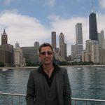 Efter trylleshow i Chicago.