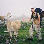 Et ikke helt interesseret publikum. Andesbjergene i Peru.