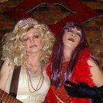 Som drag queen i New Yorks undergrundsmiljø!