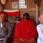 Efter trylleshow hos lokal beduinfamilie i Wahiba-ørkenen, Mellemøsten.