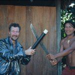 Trylleri hos indianere i Sydamerika.