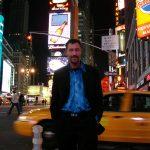 Gadeshows på Time Square, New York, USA.